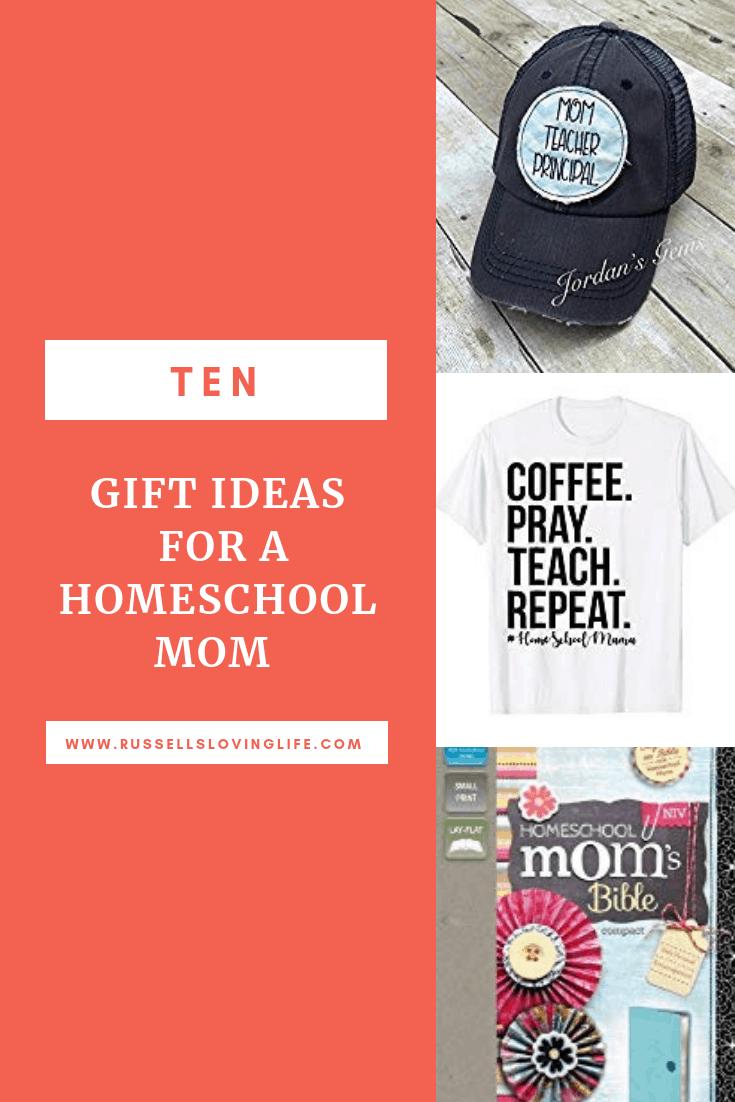 10 gift ideas for a homeschool mom